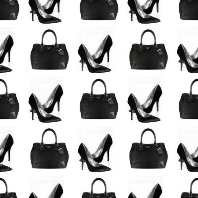 Click to get the codes for this image. Handbags And Heels, Fashion Background Wallpaper Image or texture free for any profile, webpage, phone, or desktop