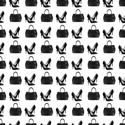 Click to get the codes for this image. Handbags And Heels Small, Fashion Background Wallpaper Image or texture free for any profile, webpage, phone, or desktop