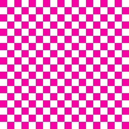 Click to get the codes for this image. Hot Pink And White Checkerboard Pattern, Pink, Checkers and Squares Background Wallpaper Image or texture free for any profile, webpage, phone, or desktop