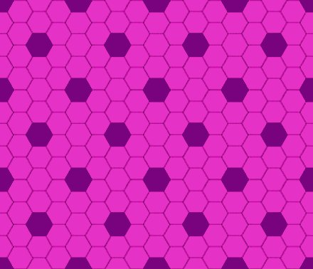 Click to get the codes for this image. Hot Pink Hexagon Tile Seamless Background Pattern, Tile, Pink Background Wallpaper Image or texture free for any profile, webpage, phone, or desktop