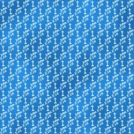 Click to get the codes for this image. John 3 16 Azure Blue Background, Religious, Blue Background Wallpaper Image or texture free for any profile, webpage, phone, or desktop