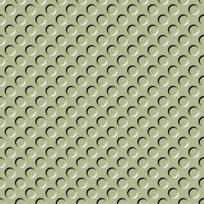 Click to get the codes for this image. Khaki Indented Circles Background Seamless, Beveled and Indented, Circles, Green, Brown Background Wallpaper Image or texture free for any profile, webpage, phone, or desktop