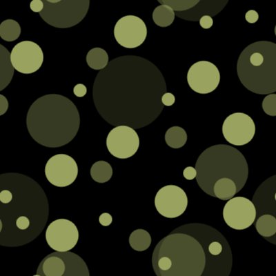Click to get the codes for this image. Khaki On Black Random Circle Dots Seamless Background, Circles, Polka Dots, Green Background Wallpaper Image or texture free for any profile, webpage, phone, or desktop