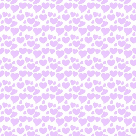 Click to get the codes for this image. Lavender Hearts On White, Hearts, Purple Background Wallpaper Image or texture free for any profile, webpage, phone, or desktop