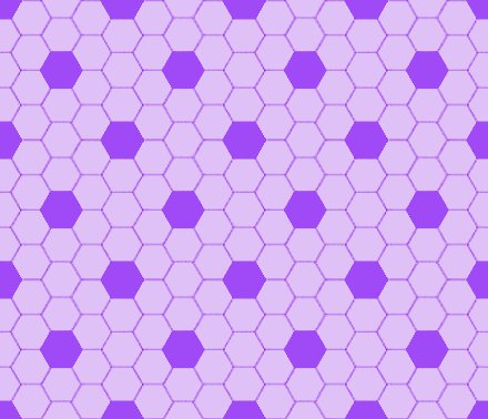 Click to get the codes for this image. Lavender Hexagon Tile Seamless Background Pattern, Tile, Purple Background Wallpaper Image or texture free for any profile, webpage, phone, or desktop