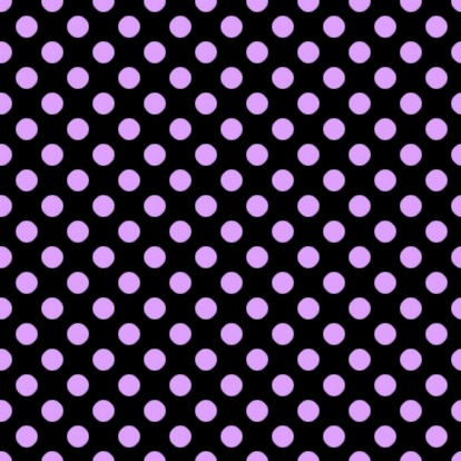 Click to get the codes for this image. Lavender Polkadots On Black, Polka Dots, Purple Background Wallpaper Image or texture free for any profile, webpage, phone, or desktop