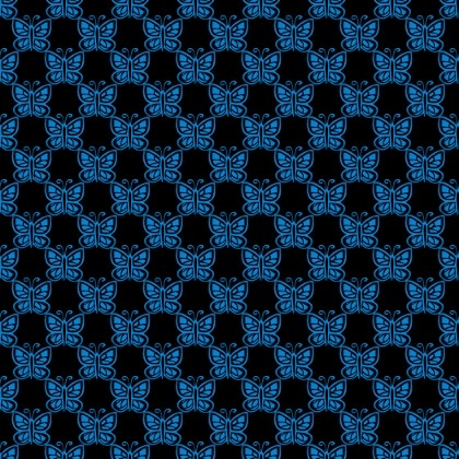 Click to get the codes for this image. Light Blue Butterflies On Black, Blue, Butterflies Background Wallpaper Image or texture free for any profile, webpage, phone, or desktop