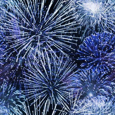 Click to get the codes for this image. Light Blue Fireworks Background Texture Seamless, Fireworks, Blue Background Wallpaper Image or texture free for any profile, webpage, phone, or desktop