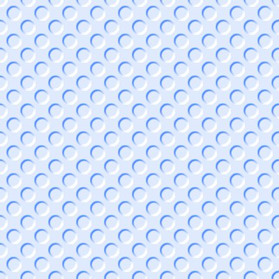 Click to get the codes for this image. Light Blue Indented Circles Background Seamless, Beveled and Indented, Circles, Blue Background Wallpaper Image or texture free for any profile, webpage, phone, or desktop