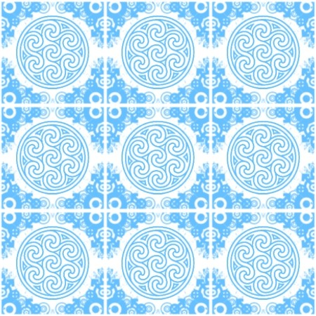 Click to get the codes for this image. Light Blue Ornate Circles And Squares On White, Blue, Ornate, Circles Background Wallpaper Image or texture free for any profile, webpage, phone, or desktop