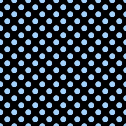 Click to get the codes for this image. Light Blue Polkadots On Black, Polka Dots, Blue Background Wallpaper Image or texture free for any profile, webpage, phone, or desktop