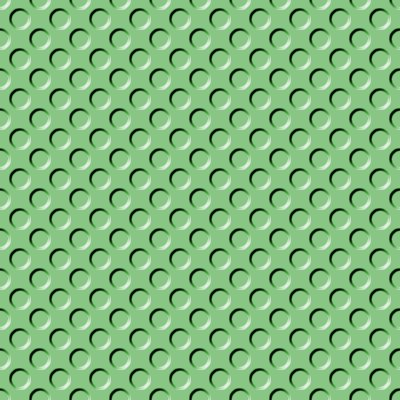 Click to get the codes for this image. Light Green Indented Circles Background Seamless, Beveled and Indented, Circles, Green Background Wallpaper Image or texture free for any profile, webpage, phone, or desktop