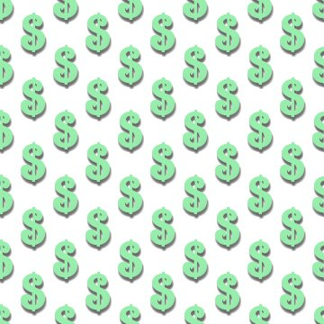 Click to get the codes for this image. Light Green Dollar Signs Background Tileable, Money, Green Background Wallpaper Image or texture free for any profile, webpage, phone, or desktop