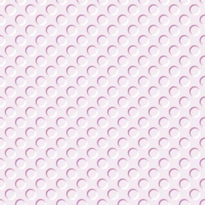 Click to get the codes for this image. Light Mauve Indented Circles Background Seamless, Beveled and Indented, Circles, Pink Background Wallpaper Image or texture free for any profile, webpage, phone, or desktop
