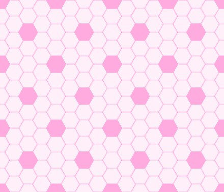 Click to get the codes for this image. Light Pink Hexagon Tile Seamless Background Pattern, Tile, Pink Background Wallpaper Image or texture free for any profile, webpage, phone, or desktop