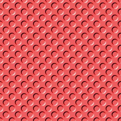 Click to get the codes for this image. Light Red Indented Circles Background Seamless, Beveled and Indented, Circles, Red Background Wallpaper Image or texture free for any profile, webpage, phone, or desktop