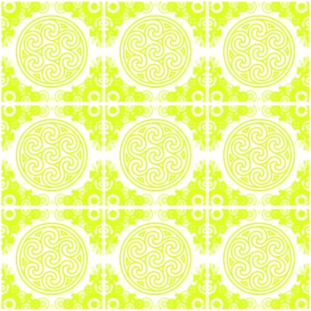 Click to get the codes for this image. Lime Bright Green Ornate Circles And Squares On White, Green, Ornate, Circles Background Wallpaper Image or texture free for any profile, webpage, phone, or desktop