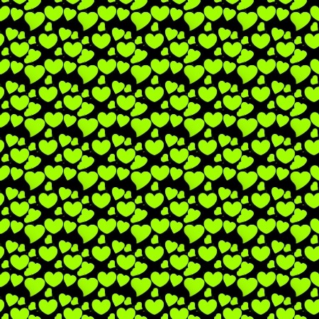 Click to get the codes for this image. Lime Green Hearts On Black, Green, Hearts Background Wallpaper Image or texture free for any profile, webpage, phone, or desktop