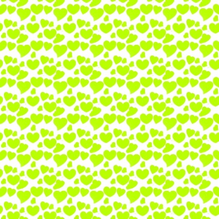 green hearts background - photo #34