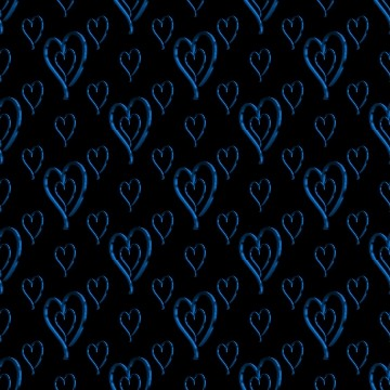 Click to get the codes for this image. Metallic Light Blue Hearts Wallpaper On Black Background, Hearts, Metallic, Blue Background Wallpaper Image or texture free for any profile, webpage, phone, or desktop