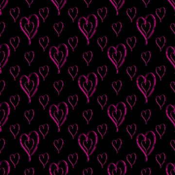 Click to get the codes for this image. Metallic Pink Hearts Wallpaper On Black Background, Hearts, Metallic, Pink Background Wallpaper Image or texture free for any profile, webpage, phone, or desktop