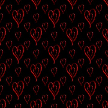 Click to get the codes for this image. Metallic Red Hearts Wallpaper On Black Background, Hearts, Metallic, Red Background Wallpaper Image or texture free for any profile, webpage, phone, or desktop