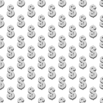 Click to get the codes for this image. Dollar Signs Background Tileable, Money, Gray Background Wallpaper Image or texture free for any profile, webpage, phone, or desktop