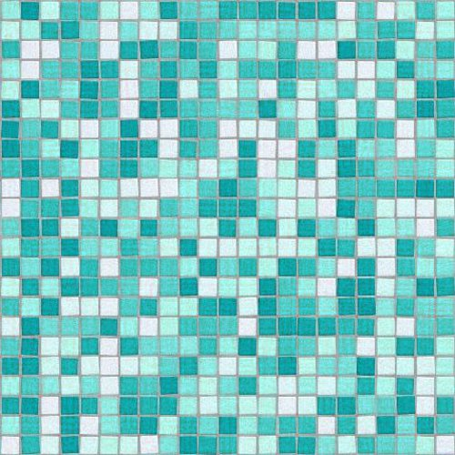 Click to get the codes for this image. Mosaic Tile Background Seamless Pattern Aqua, Checkers and Squares, Tile, Aqua Background Wallpaper Image or texture free for any profile, webpage, phone, or desktop