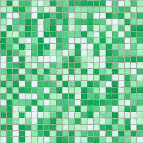 Click to get the codes for this image. Mosaic Tile Green Background Seamless Pattern, Checkers and Squares, Tile, Green Background Wallpaper Image or texture free for any profile, webpage, phone, or desktop