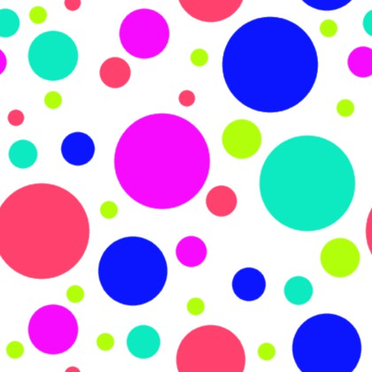 Click to get the codes for this image. Multi Colored Dots On White Background Seamless, Circles, Polka Dots Background Wallpaper Image or texture free for any profile, webpage, phone, or desktop