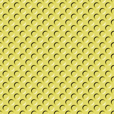Click to get the codes for this image. Mustard Yellow Indented Circles Background Seamless, Beveled and Indented, Circles, Yellow Background Wallpaper Image or texture free for any profile, webpage, phone, or desktop