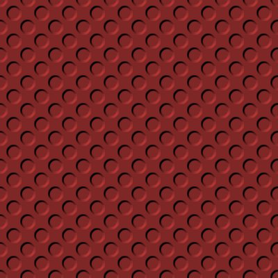 Click to get the codes for this image. Muted Red Indented Circles Background Seamless, Beveled and Indented, Circles, Red Background Wallpaper Image or texture free for any profile, webpage, phone, or desktop