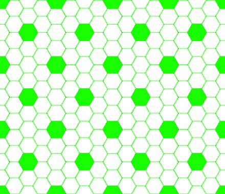 Click to get the codes for this image. Neon Green And White Hexagon Tile Seamless Background Pattern, Tile, Green Background Wallpaper Image or texture free for any profile, webpage, phone, or desktop