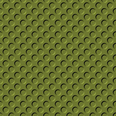 Click to get the codes for this image. Olive Green Indented Circles Background Seamless, Beveled and Indented, Circles, Green Background Wallpaper Image or texture free for any profile, webpage, phone, or desktop