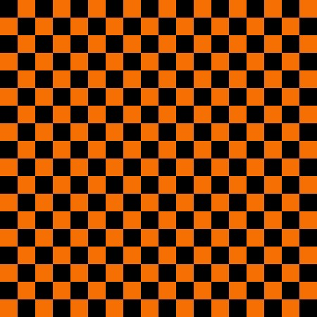 Click to get the codes for this image. Orange And Black Checkerboard Pattern, Checkers and Squares, Orange Background Wallpaper Image or texture free for any profile, webpage, phone, or desktop