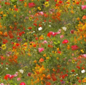 Click to get the codes for this image. Orange And Red Wildflowers Seamless Painting, Flowers, Artistic Background Wallpaper Image or texture free for any profile, webpage, phone, or desktop