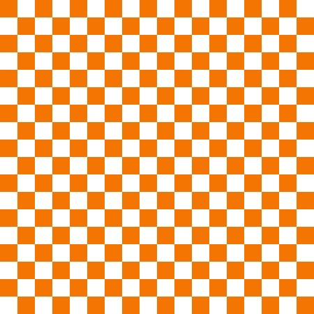 Click to get the codes for this image. Orange And White Checkerboard Pattern, Checkers and Squares, Orange Background Wallpaper Image or texture free for any profile, webpage, phone, or desktop