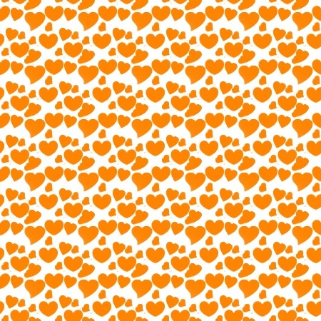 Click to get the codes for this image. Orange Hearts On White, Hearts, Orange Background Wallpaper Image or texture free for any profile, webpage, phone, or desktop