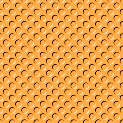 Click to get the codes for this image. Orange Indented Circles Background Seamless, Beveled and Indented, Circles, Orange Background Wallpaper Image or texture free for any profile, webpage, phone, or desktop