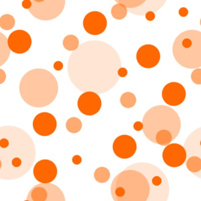 Click to get the codes for this image. Orange Random Circle Dots Seamless Background, Circles, Polka Dots, Orange Background Wallpaper Image or texture free for any profile, webpage, phone, or desktop