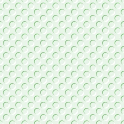 Click to get the codes for this image. Pastel Green Indented Circles Background Seamless, Beveled and Indented, Circles, Green Background Wallpaper Image or texture free for any profile, webpage, phone, or desktop