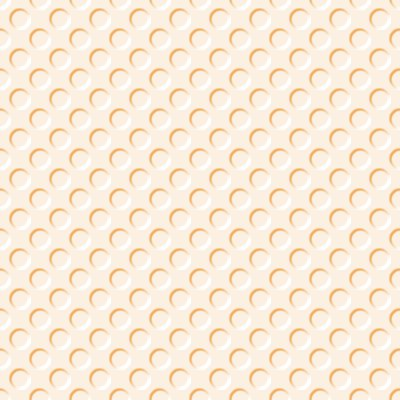 Click to get the codes for this image. Peach Colored Indented Circles Background Seamless, Beveled and Indented, Circles, Orange Background Wallpaper Image or texture free for any profile, webpage, phone, or desktop