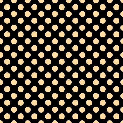 Click to get the codes for this image. Peach Polkadots On Black, Polka Dots, Orange Background Wallpaper Image or texture free for any profile, webpage, phone, or desktop