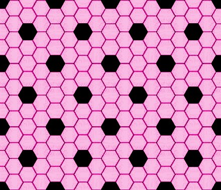 Click to get the codes for this image. Pink And Black Hexagon Tile Seamless Background Pattern, Tile, Pink Background Wallpaper Image or texture free for any profile, webpage, phone, or desktop