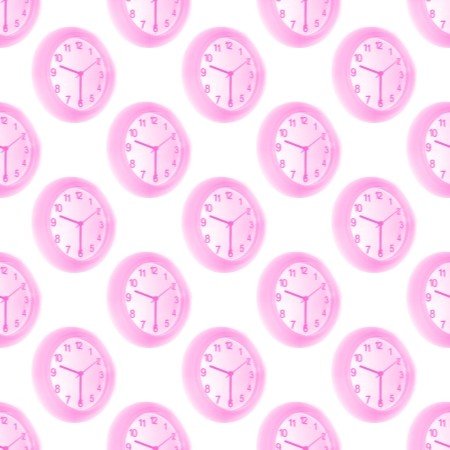 Click to get the codes for this image. Pink Clocks, Pink, Gadgets Background Wallpaper Image or texture free for any profile, webpage, phone, or desktop