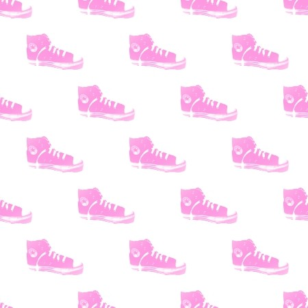 Click to get the codes for this image. Pink Converse Tennis Shoes, Pink, Fashion Background Wallpaper Image or texture free for any profile, webpage, phone, or desktop