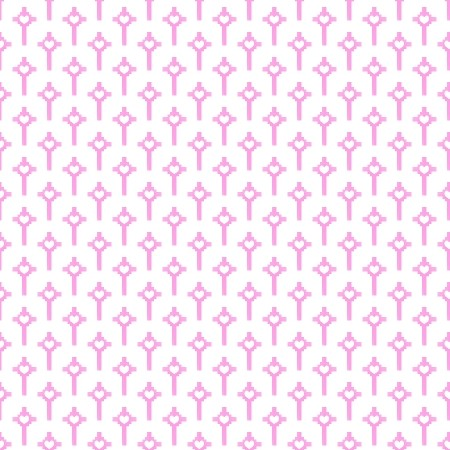 Click to get the codes for this image. Pink Crosses With Hearts, Pink, Hearts, Religious Background Wallpaper Image or texture free for any profile, webpage, phone, or desktop