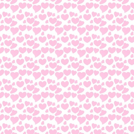 Click to get the codes for this image. Pink Hearts On White, Pink, Hearts Background Wallpaper Image or texture free for any profile, webpage, phone, or desktop