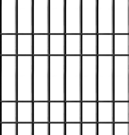 Click to get the codes for this image. Prison Bars Seamless Pattern, Fences and Bars, Black and White Background Wallpaper Image or texture free for any profile, webpage, phone, or desktop