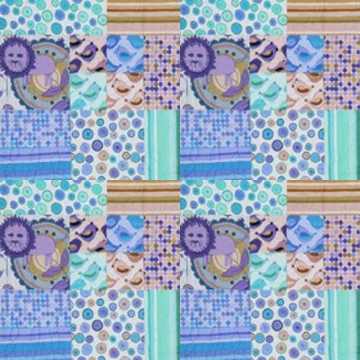 Click to get the codes for this image. Purple And Aqua Seamless Quilt Pattern, Quilts, Cloth Background Wallpaper Image or texture free for any profile, webpage, phone, or desktop